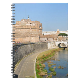 Sant'Angelo Castle in Rome, Italy Notebook