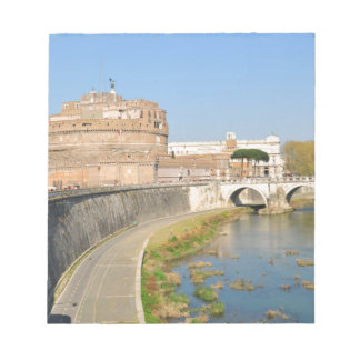 Sant'Angelo Castle in Rome, Italy Notepad