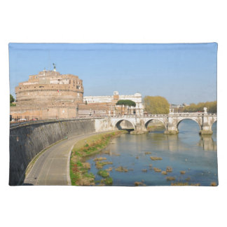 Sant'Angelo Castle in Rome, Italy Placemats