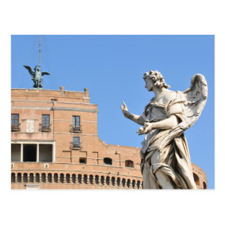 Sant'Angelo Castle in Rome, Italy Postcard