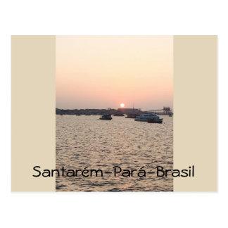 Santarém-Par3a-Brazil Postcard