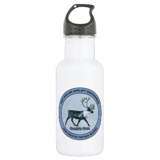 Santa's 1st Polar Airlift Sqdn - Subdued 532 Ml Water Bottle