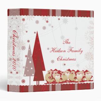 Santas and Christmas Trees Photo Album Binders