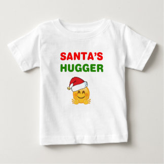 Santa's awesome hugger baby T-Shirt