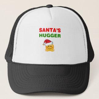 Santa's awesome hugger trucker hat