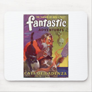 Santa's Bad Cats Mouse Pad