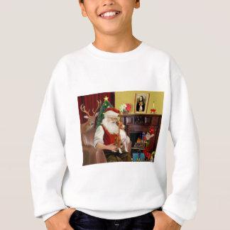 Santas Basenji Sweatshirt