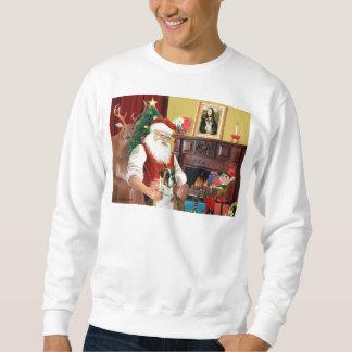 Santa's Boxer (natural ears) Sweatshirt