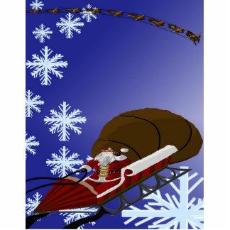 Santa's Card Cut Outs