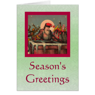 Santa's Chimney card