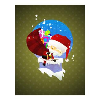 Santa's Chimney Personalized Letterhead