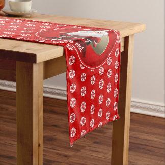 Santa's Christmas Celebration Short Table Runner