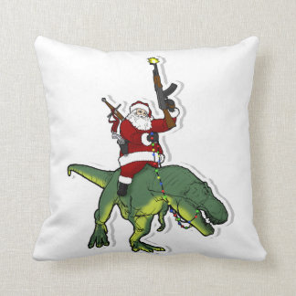 Santa's Coming to Town Throw Pillow