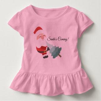 Santa's Coming Toddler T-shirt