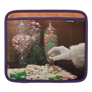 Santa's Cookies iPad Sleeve