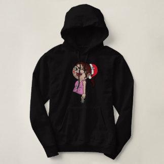 Santa's Daughter Hooded Sweatshirt