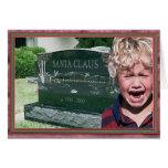 santas dead greeting card