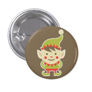 Santa's Elf 1 Inch Round Button