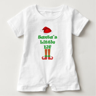 Santa's Elf baby romper
