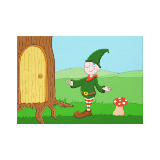 Santa's Elf Canvas Print