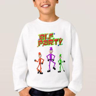 Santa's Elves Elf Party Design Sweatshirt