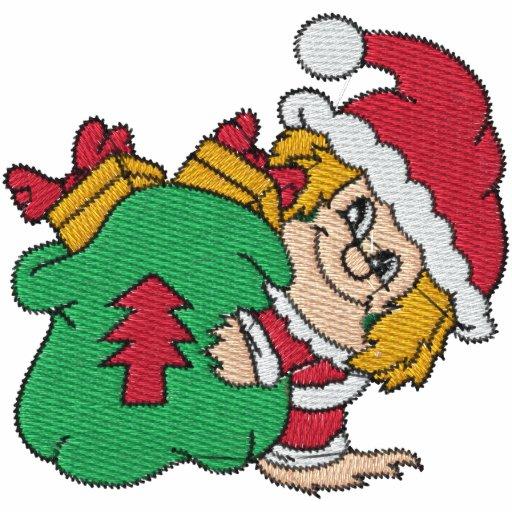 Santa's Elves Embroidered Shirt