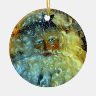 Santa's Face Ornament