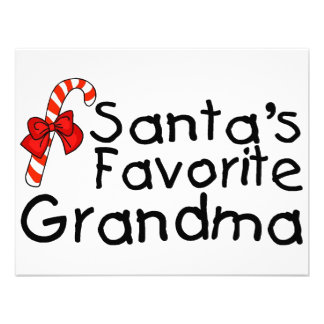 Santas Favorite Grandma 2 Invite