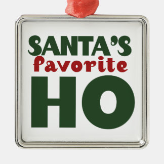 Santas Favorite HO Metal Ornament