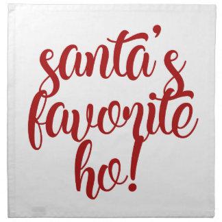 Santa's Favorite Ho! Napkin