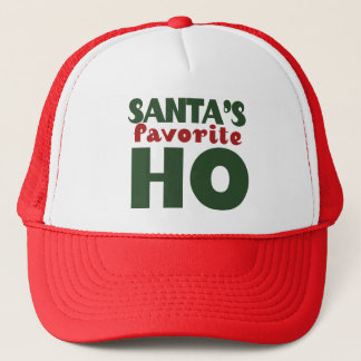 Santas Favorite HO Trucker Hat
