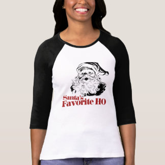 Santas Favorite HO Women T-Shirt