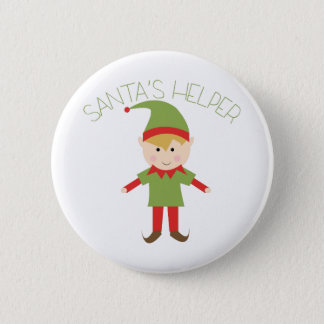 Santas Helper 2 Inch Round Button