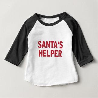 Santa's Helper Baby T-Shirt