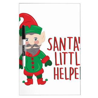 Santas Helper Dry Erase White Board