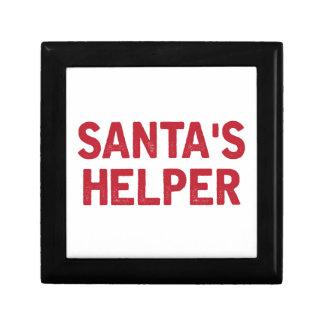 Santa's Helper Gift Box