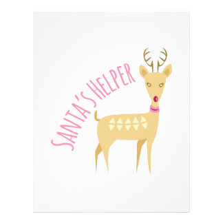 Santas Helper Letterhead Design