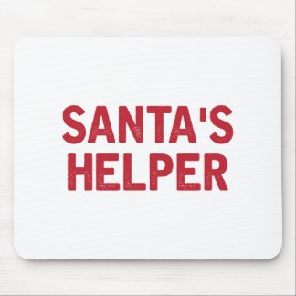 Santa's Helper Mouse Pad