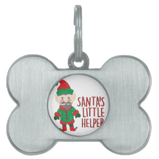 Santas Helper Pet Tags