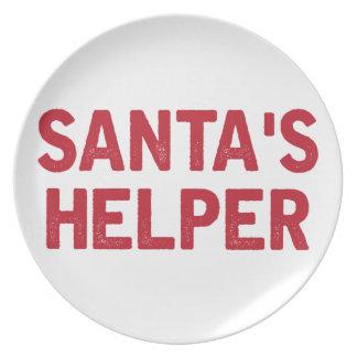 Santa's Helper Plate