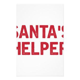 Santa's Helper Stationery