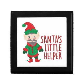 Santas Helper Trinket Boxes