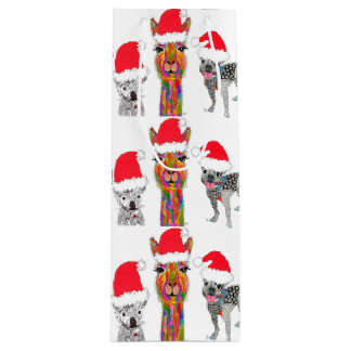 Santa's Helpers Wine Bag (You can Customize)