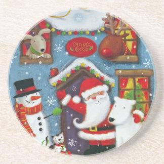 Santa's House Coaster