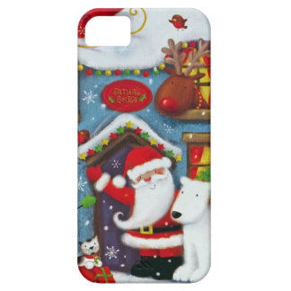 Santa's House iPhone 5 Cases