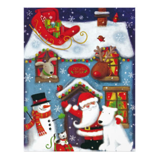 Santa's House Letterhead