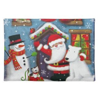Santa's House Placemat
