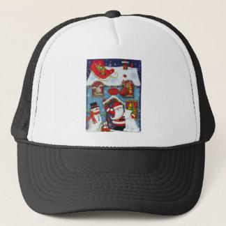 Santa's House Trucker Hat