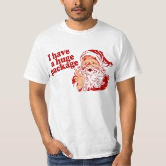 Santas Huge Package T Shirts