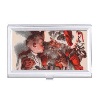 Santa's Lap Business Card Holder
